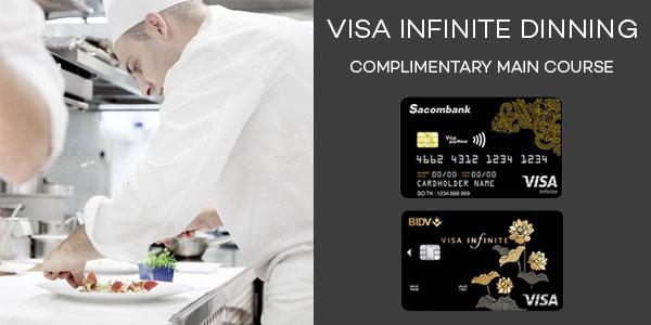 Feature visa infinite dining