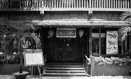 Nhà hàng Hội An tại 11 Lê Thánh Tôn