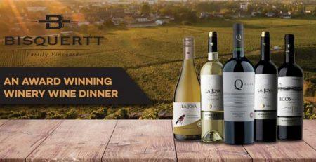 Bisquertt Wine Dinner
