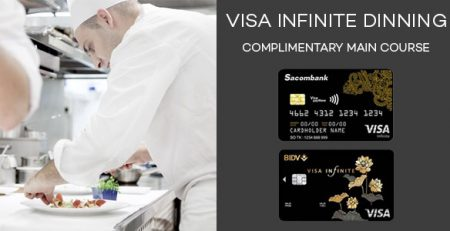 Feature visa infinite dining