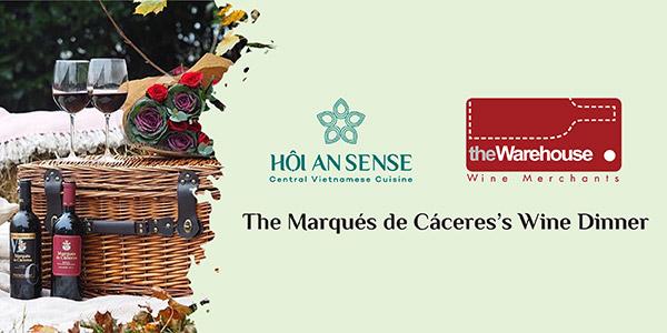 Thưởng Thức Đêm Tiệc The Marqués de Cáceres's Wine Dinner
