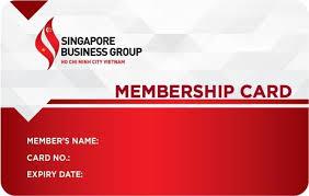 SBG member card